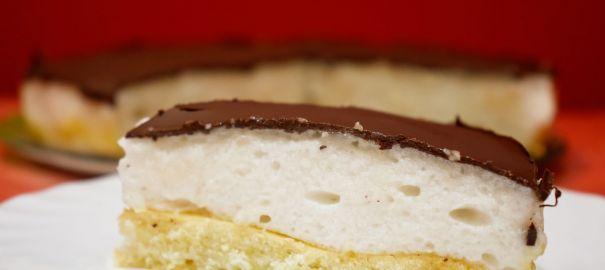 Торт «Птичье молоко» (постный)