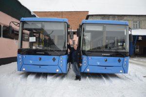 Для новых автобусов зажегся зелёный свет!